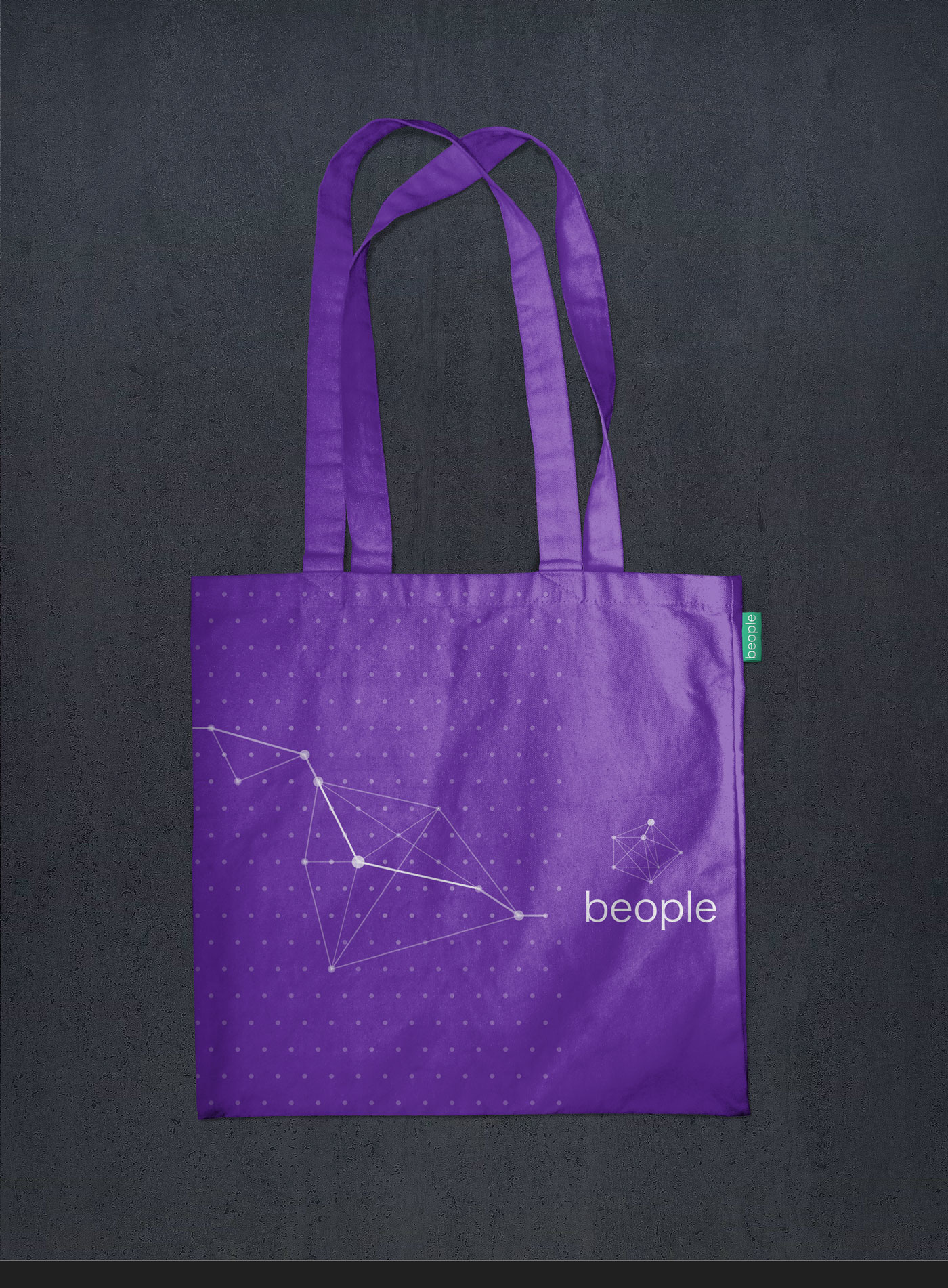 bag beople violet